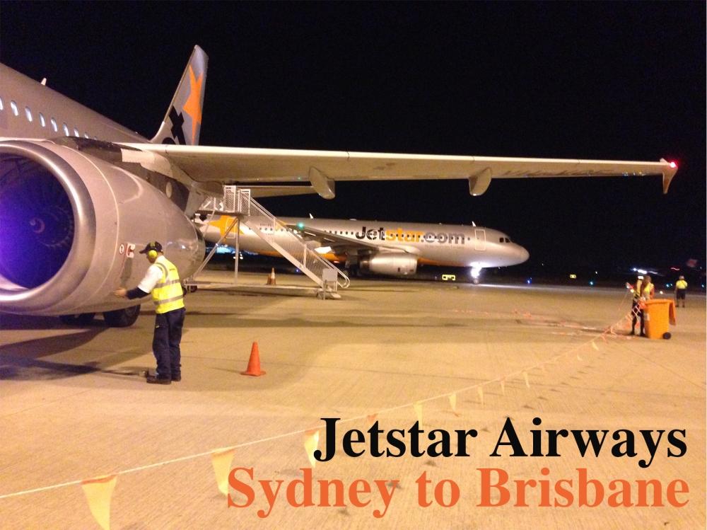 Jetstar Airways - Sydney to Brisbane
