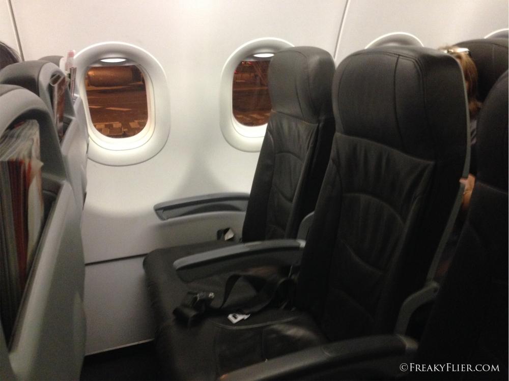 'Standard seats' 7E & F on board Jetstar