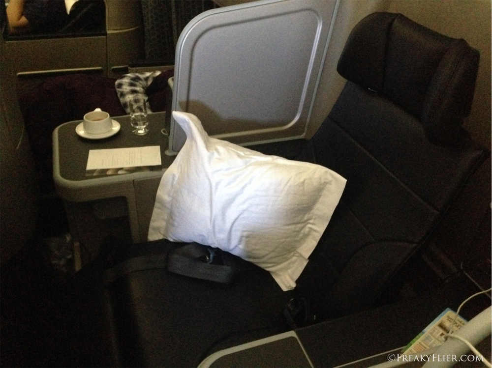 Suite 8A in the last row of Business Class