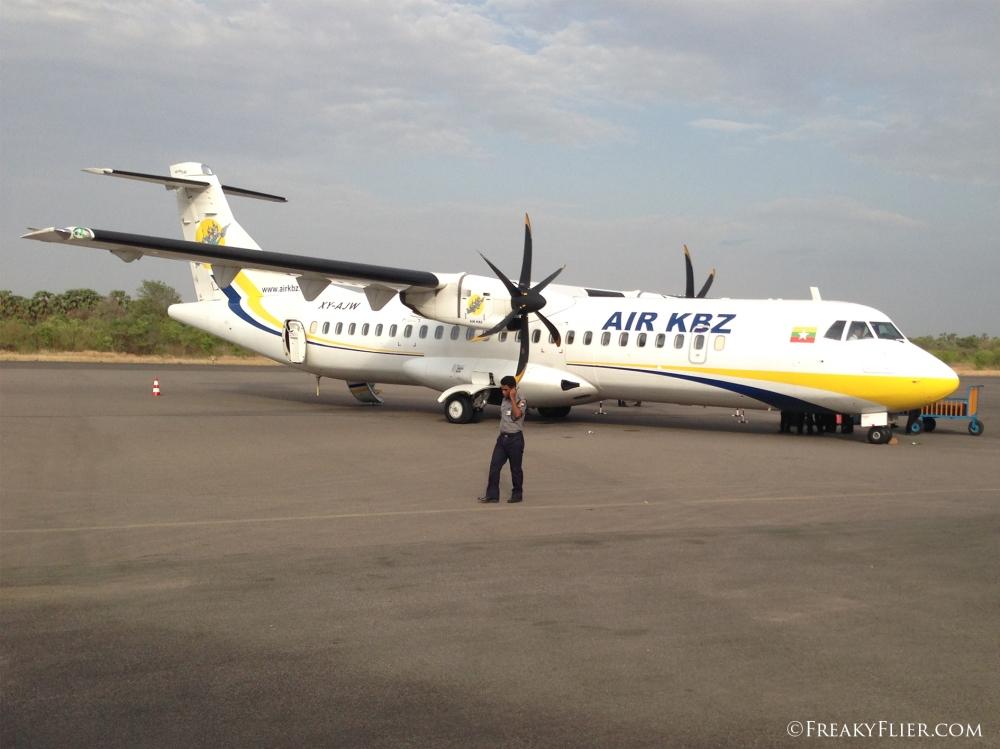 Arrival in Nyaung U (Bagan)