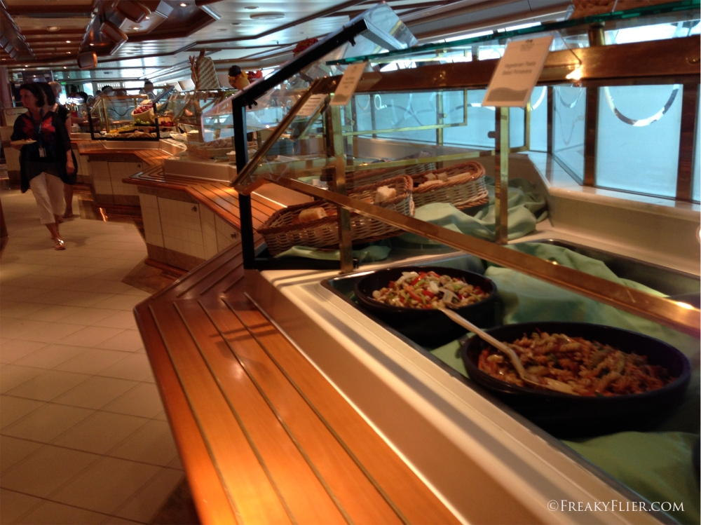 Buffet lunch at the Horizon Court Buffet