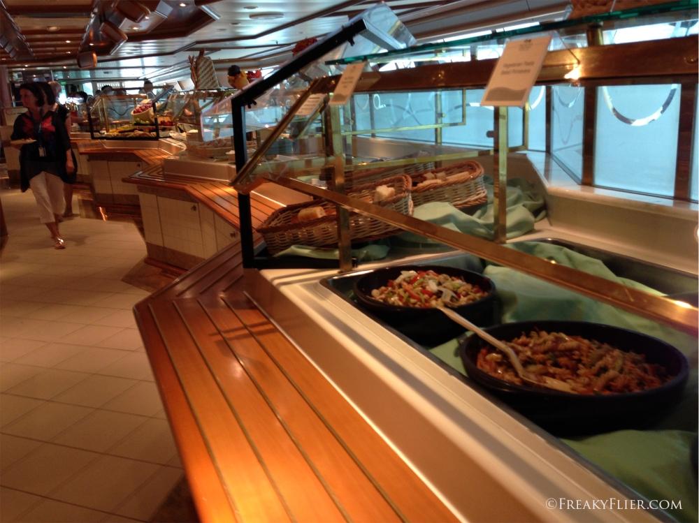 Buffet lunch at the Horizon Court Buffet