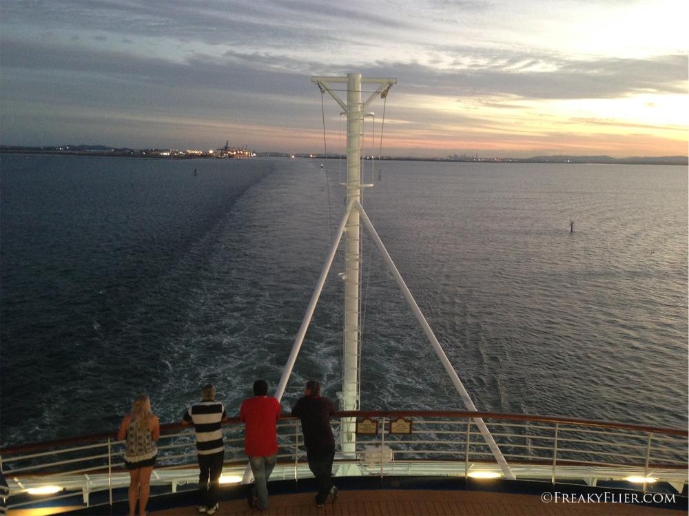 Leaving Brisbane and the coast behind