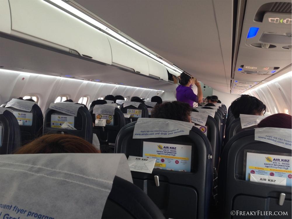 The new ATR72-600 interior