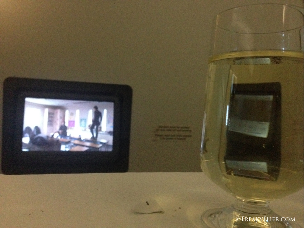 A glass of Mesh 2014 Eden Valley Reisling