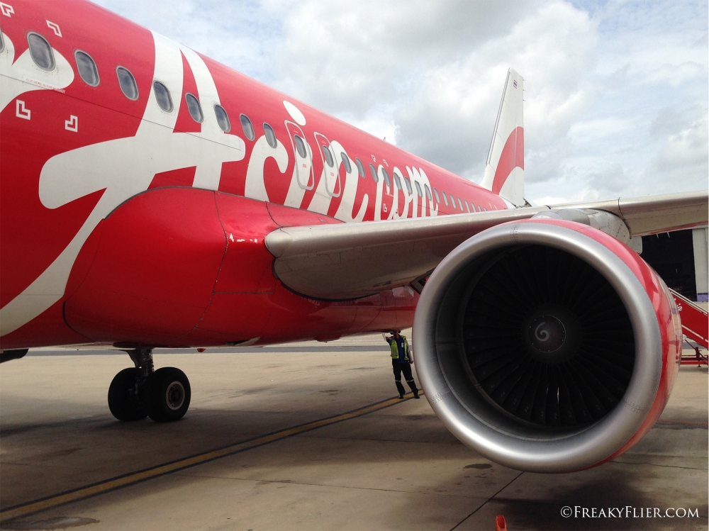 Air Asia A320 at Don Mueang Airport, Bangkok