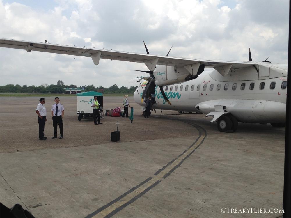 Arrival in Yangon