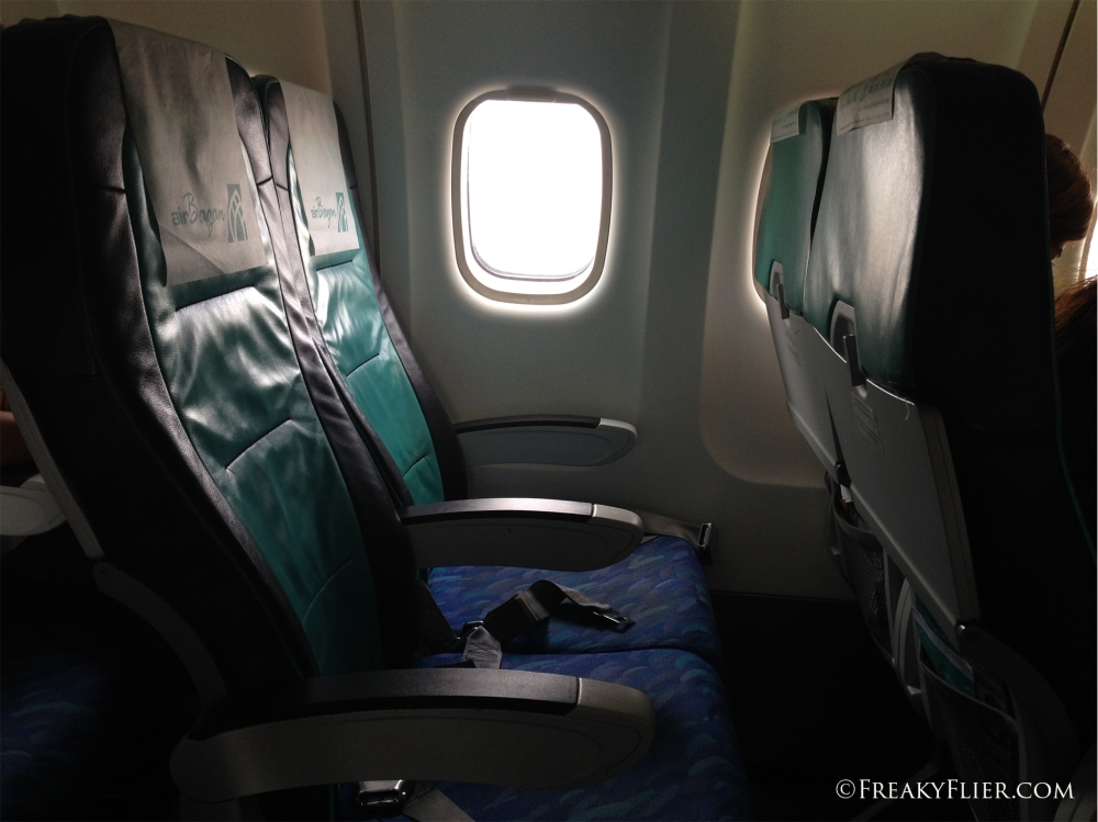 Our 'non allocated' seats on Air Bagan