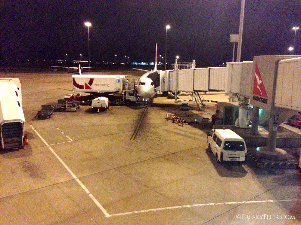 Arrival in Brisbane
