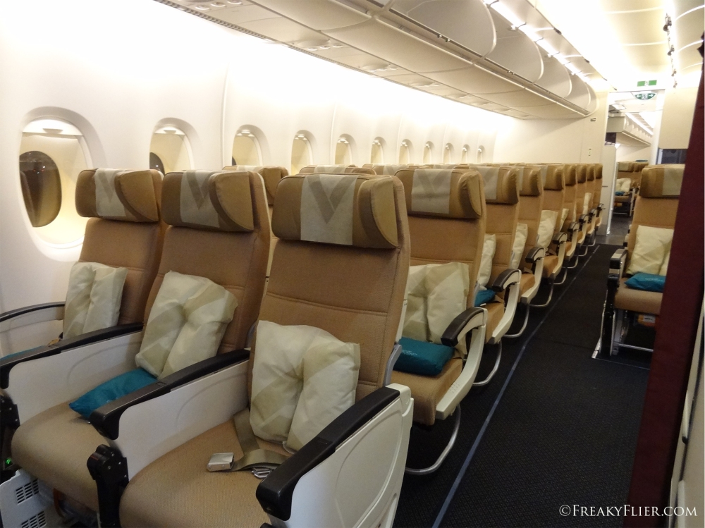 Economy Class on the Etihad A380