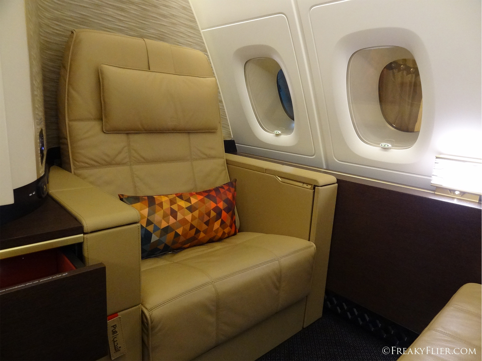 Seating in The First Apartments on board the Airbus A380
