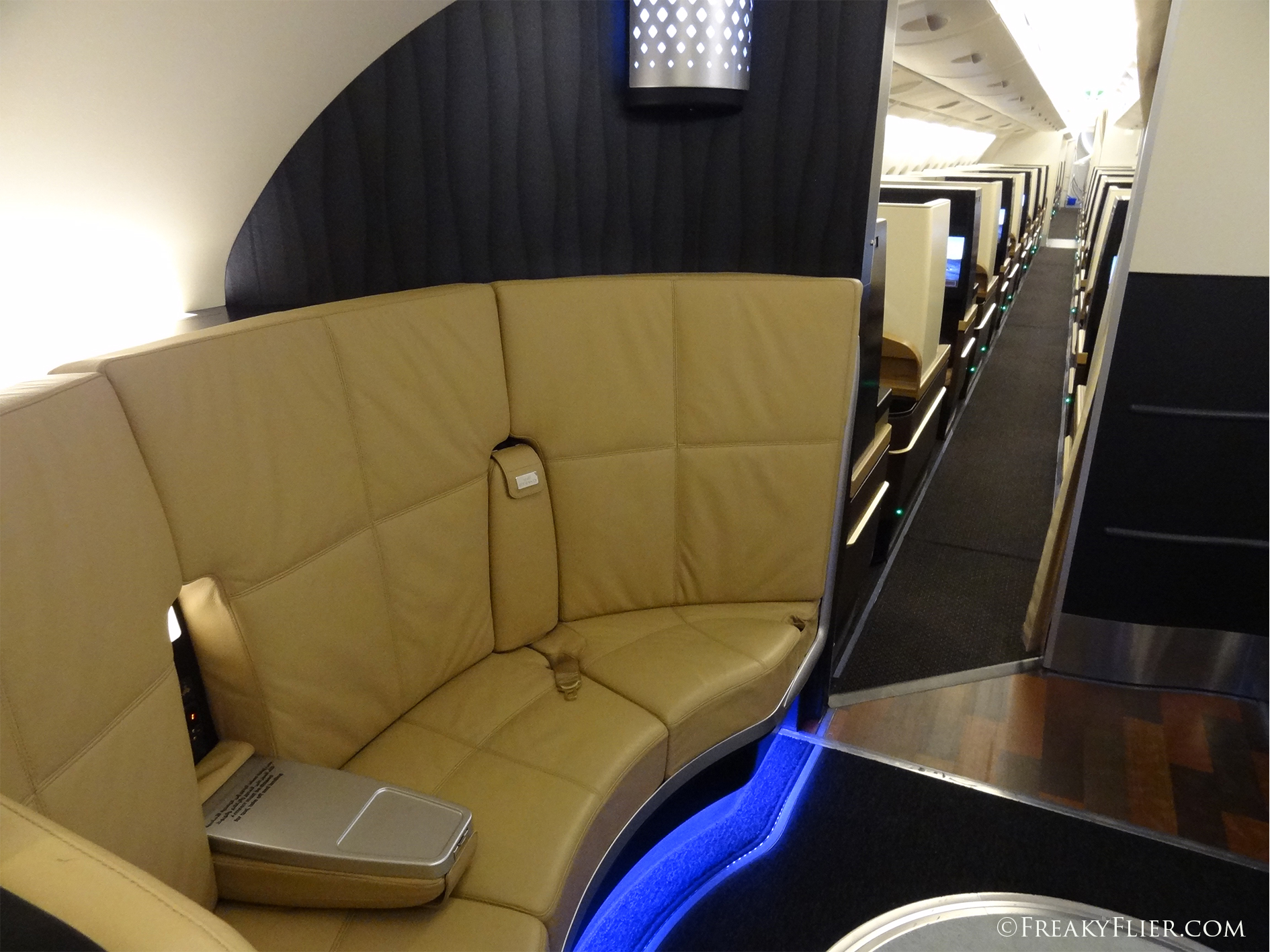 The Lobby, First and Business Class lounge on the Airbus A380