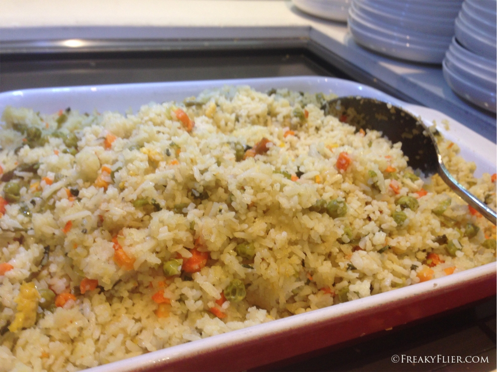 The hot dish - rice pilaf