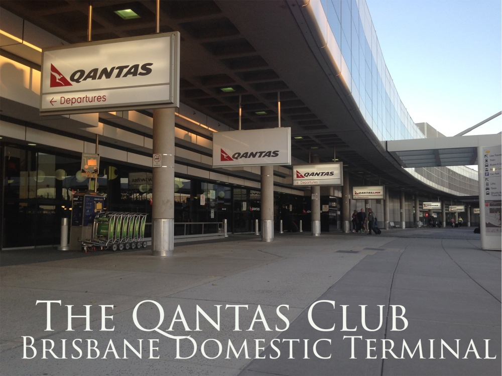 The Qantas Club Brisbane Domestic Terminal