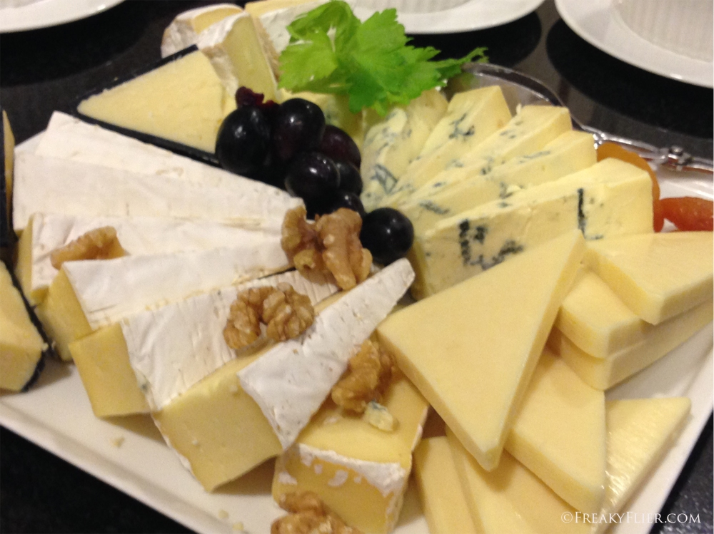 A cheese platter to die for