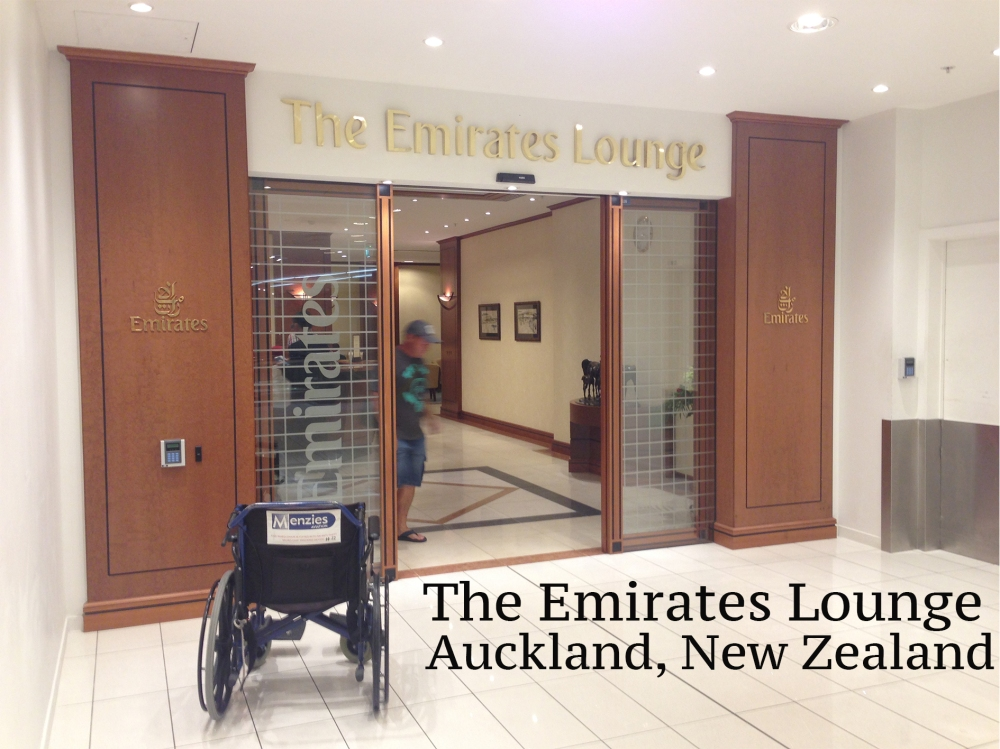 The Emirates Lounge Auckland, New Zealand