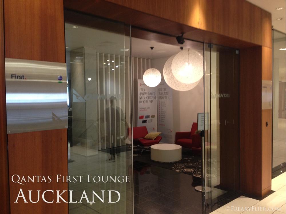 Qantas First Lounge, Auckland