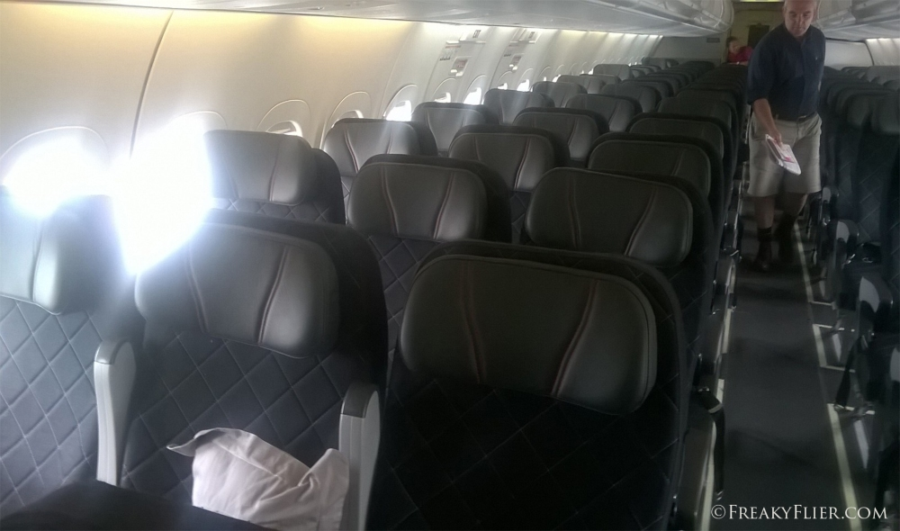 The QantasLink 717 Economy Interior
