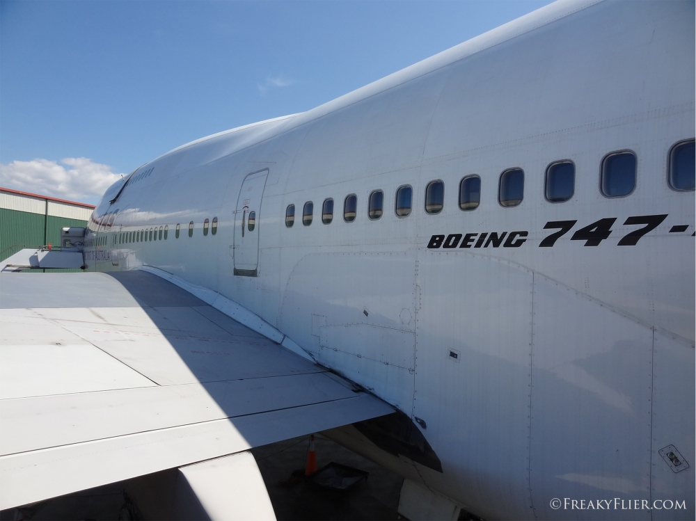 QANTAS Boeing 747-400 at HARS
