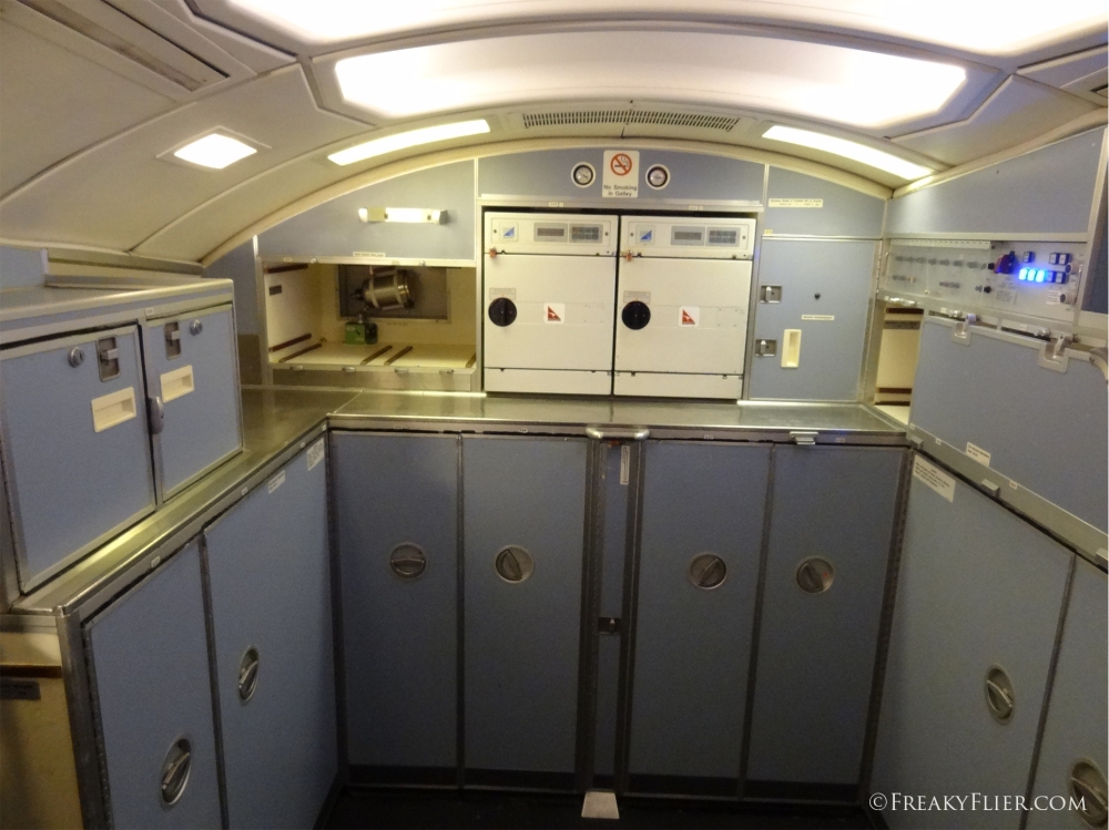 Upper deck rear galley