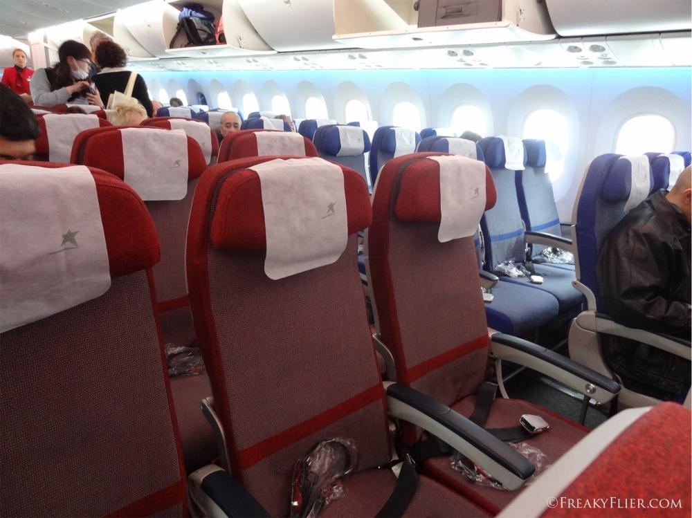 Economy Class on LATAM 787-9