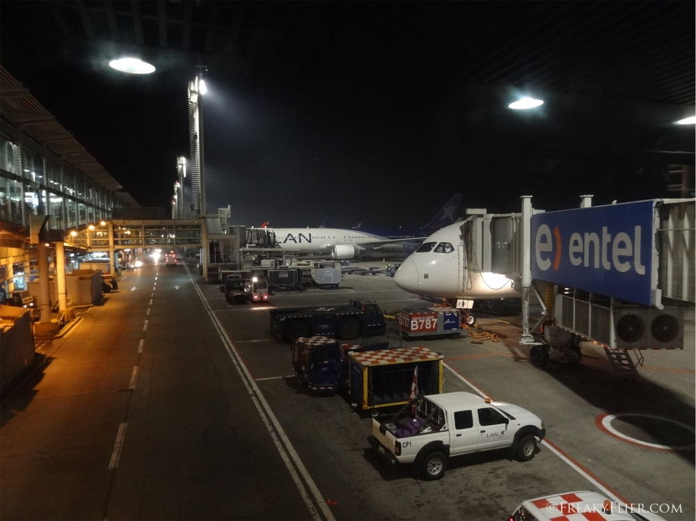LATAM (LAN) 787 Dreamliners at Buenos Aires Ezeiza Airport