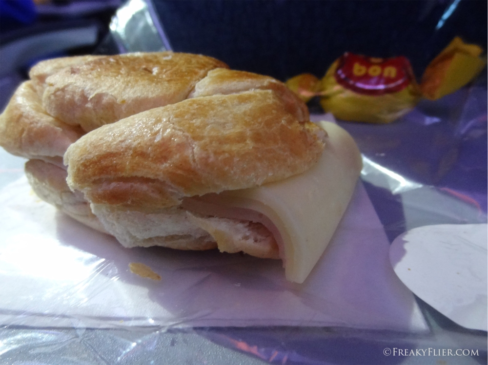 The ham and cheese roll