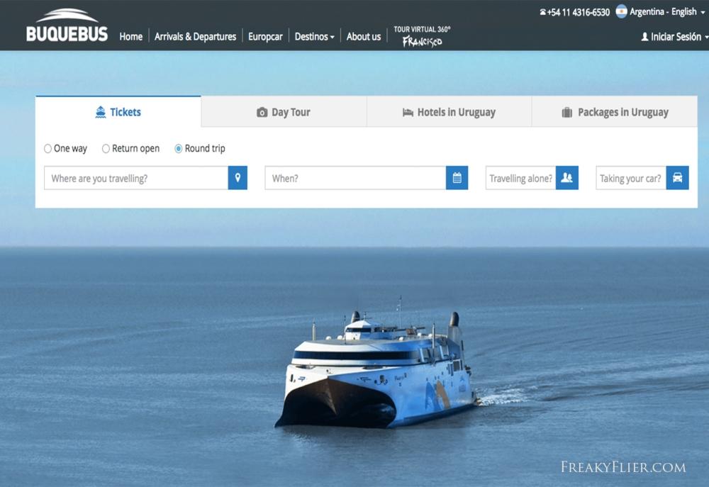 burquebus-website