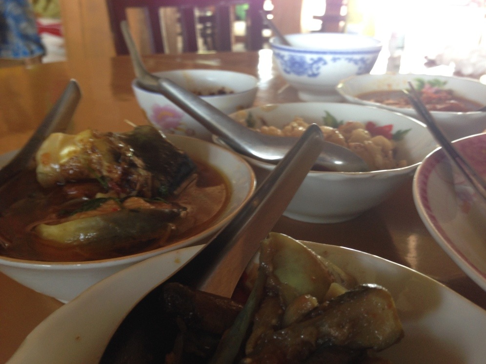 Lunch in Mandalay