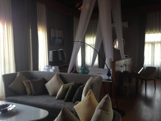 Our room at Novotel Inle Lake