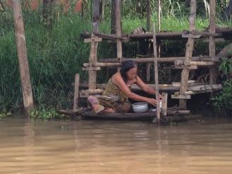 Village life in Inle Lake