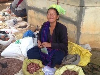 Grain seller