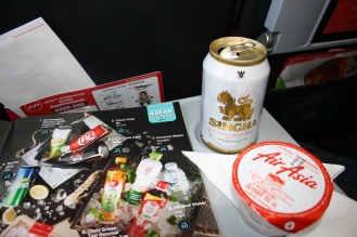 Singha beer and inflight magazine.
