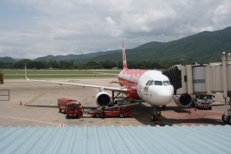 Arrival in Chiang Mai.