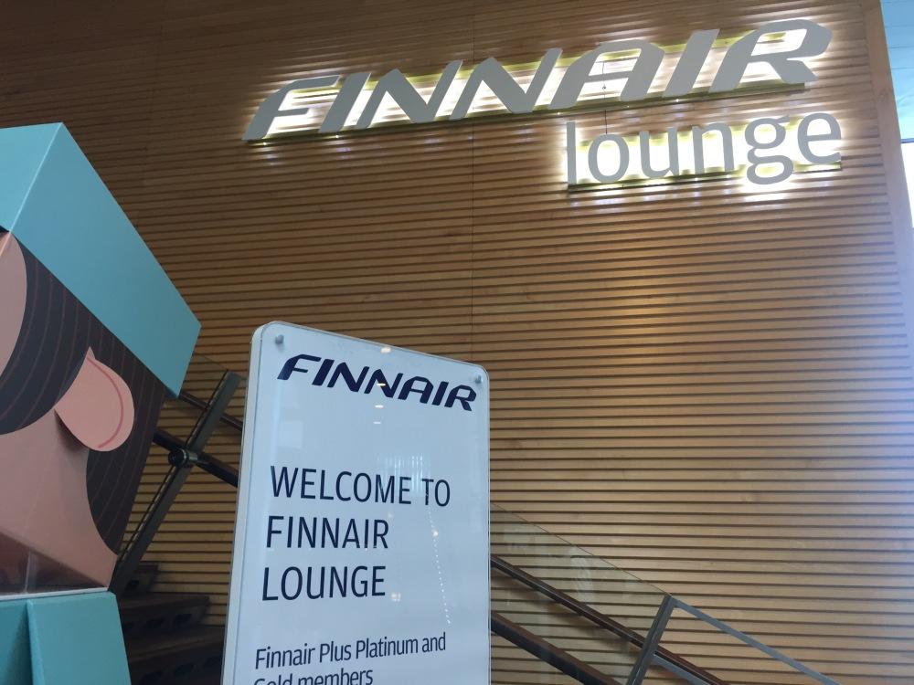 Finnair Lounge - Schengen Area at Helsinki Vantaa Airport