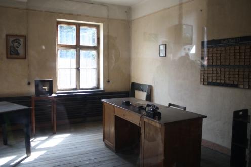 Inside Auschwitz I