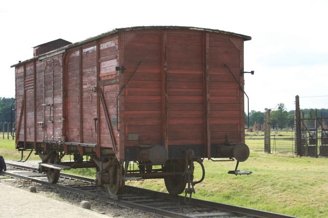 Transport to Auschwitz II - Birkenau