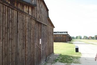 A hut at Auschwitz II - Birkenau