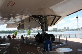 Seating under Concorde G-BOAD