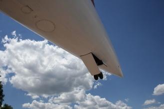Tailwheel of Concorde G-BOAD