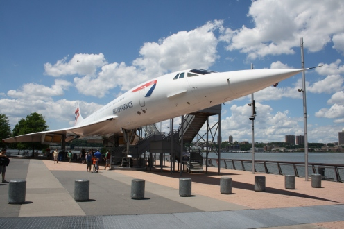 British Airways Concorde G-BOAD