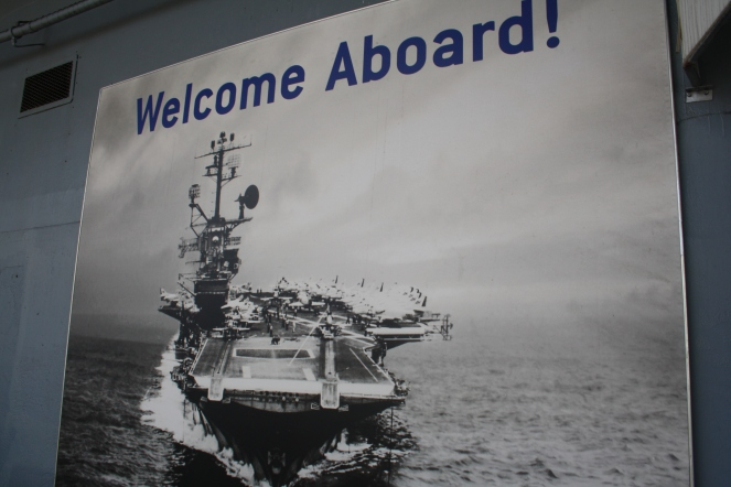 Welcome aboard the USS Intrepid