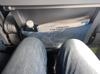 Legroom in Economy.