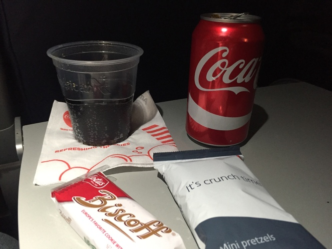 Snack Service On Board.